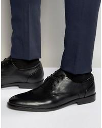 Schwarze Leder Derby Schuhe von Aldo