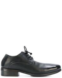schwarze Leder Derby Schuhe von Marsèll