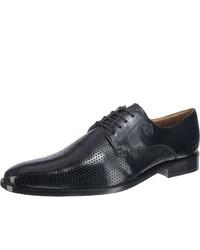 schwarze Leder Derby Schuhe von Melvin&Hamilton
