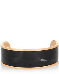 schwarze Leder Halskette von Balmain