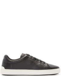 schwarze Leder niedrige Sneakers von Rag & Bone