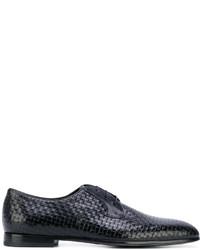 schwarze Leder Oxford Schuhe von Baldinini