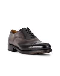 schwarze Leder Oxford Schuhe von Bally