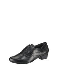schwarze Leder Oxford Schuhe von Gerry Weber
