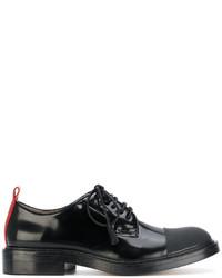 schwarze Leder Oxford Schuhe von Joseph