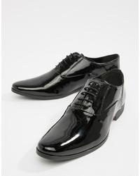 schwarze Leder Oxford Schuhe von Kg Kurt Geiger