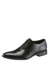 schwarze Leder Oxford Schuhe von Lloyd