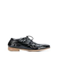 schwarze Leder Oxford Schuhe von Marsèll