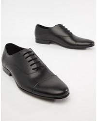 schwarze Leder Oxford Schuhe von Office