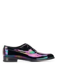 schwarze Leder Oxford Schuhe von Paul Smith