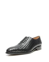 schwarze Leder Oxford Schuhe von SHOEPASSION