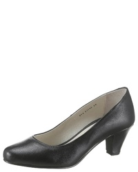 schwarze Leder Pumps von Betty Barclay Shoes