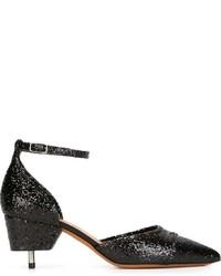 Schwarze Leder Pumps von Givenchy