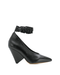 schwarze Leder Pumps von Isabel Marant