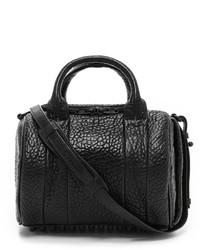 Schwarze Leder Reisetasche von Alexander Wang