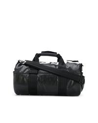 schwarze Leder Reisetasche von Diesel