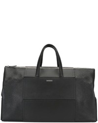 schwarze Leder Reisetasche von La Perla