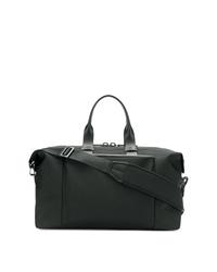 schwarze Leder Reisetasche von Troubadour