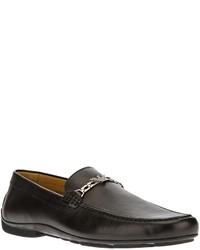 b42c8a3a2019 Modische schwarze Leder Slipper für Herren von Emporio Armani für ...