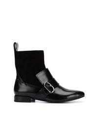 schwarze Leder Stiefeletten von 3.1 Phillip Lim