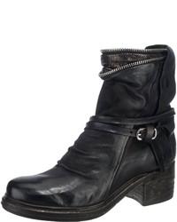 schwarze Leder Stiefeletten von A.S.98
