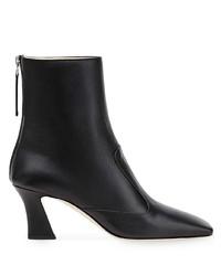 schwarze Leder Stiefeletten von Fendi
