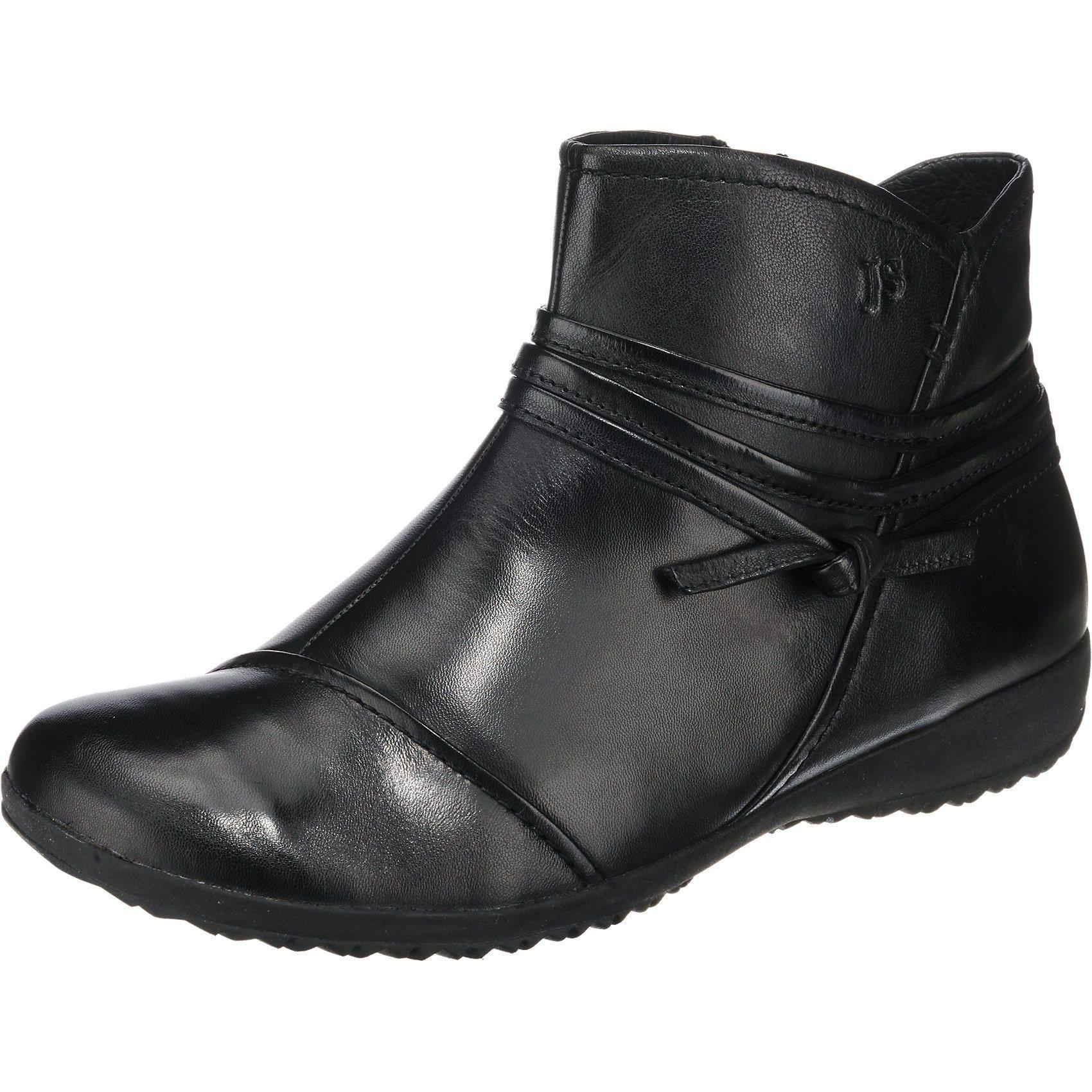 schwarze Leder Stiefeletten von Josef Seibel