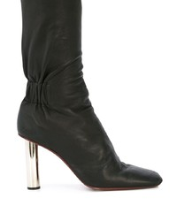 schwarze Leder Stiefeletten von Proenza Schouler