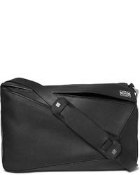 Schwarze Leder Umhängetasche von Loewe