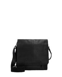 schwarze Leder Umhängetasche von The Chesterfield Brand