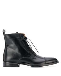 schwarze Lederformelle stiefel von Scarosso