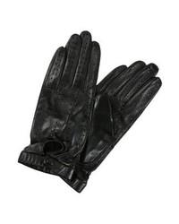 Schwarze Lederhandschuhe von DAY