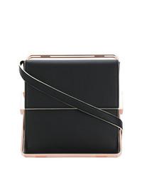 schwarze Lederhandtasche von Lautem