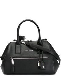 schwarze Lederhandtasche von Marc Jacobs