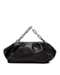 schwarze Lederhandtasche von MARQUES ALMEIDA