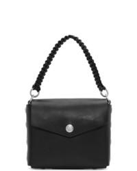 schwarze Lederhandtasche von Rag and Bone