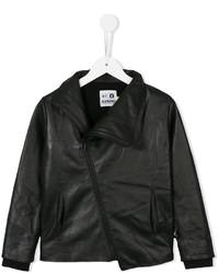 schwarze Lederjacke von nununu