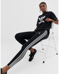 schwarze Leggings von adidas Originals