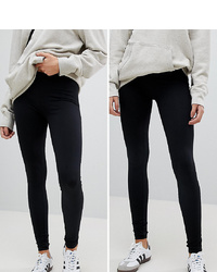 schwarze Leggings von New Look Tall