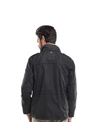 schwarze Militärjacke von emilio adani Field-Jacket