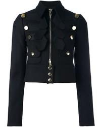 schwarze Militärjacke von Givenchy