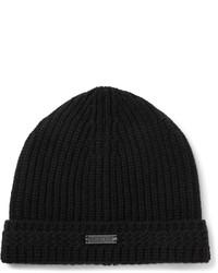 schwarze Mütze von Belstaff