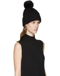 schwarze Mütze von MM6 MAISON MARGIELA