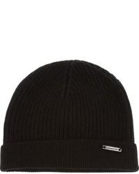 schwarze Mütze von Burberry