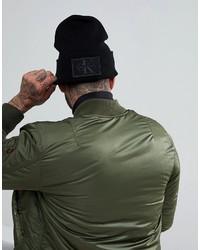 schwarze Mütze von Calvin Klein