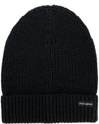 schwarze Mütze von Dolce & Gabbana