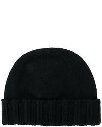 schwarze Mütze von Drumohr