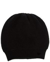 schwarze Mütze von Emporio Armani