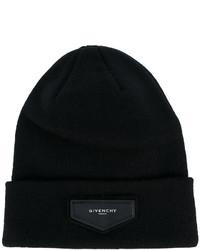 schwarze Mütze von Givenchy