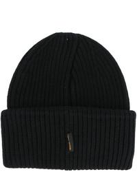 schwarze Mütze von Golden Goose Deluxe Brand